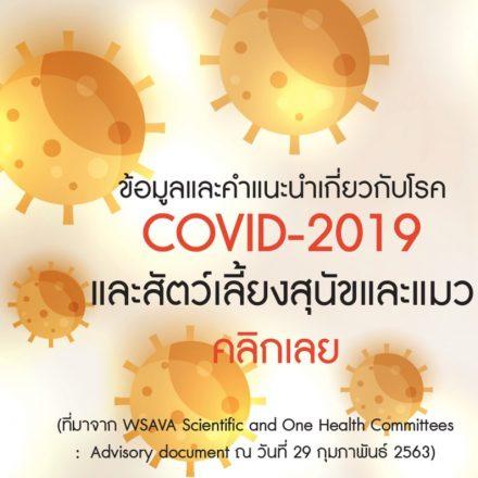 COVID-19 WSAVA by VET KU