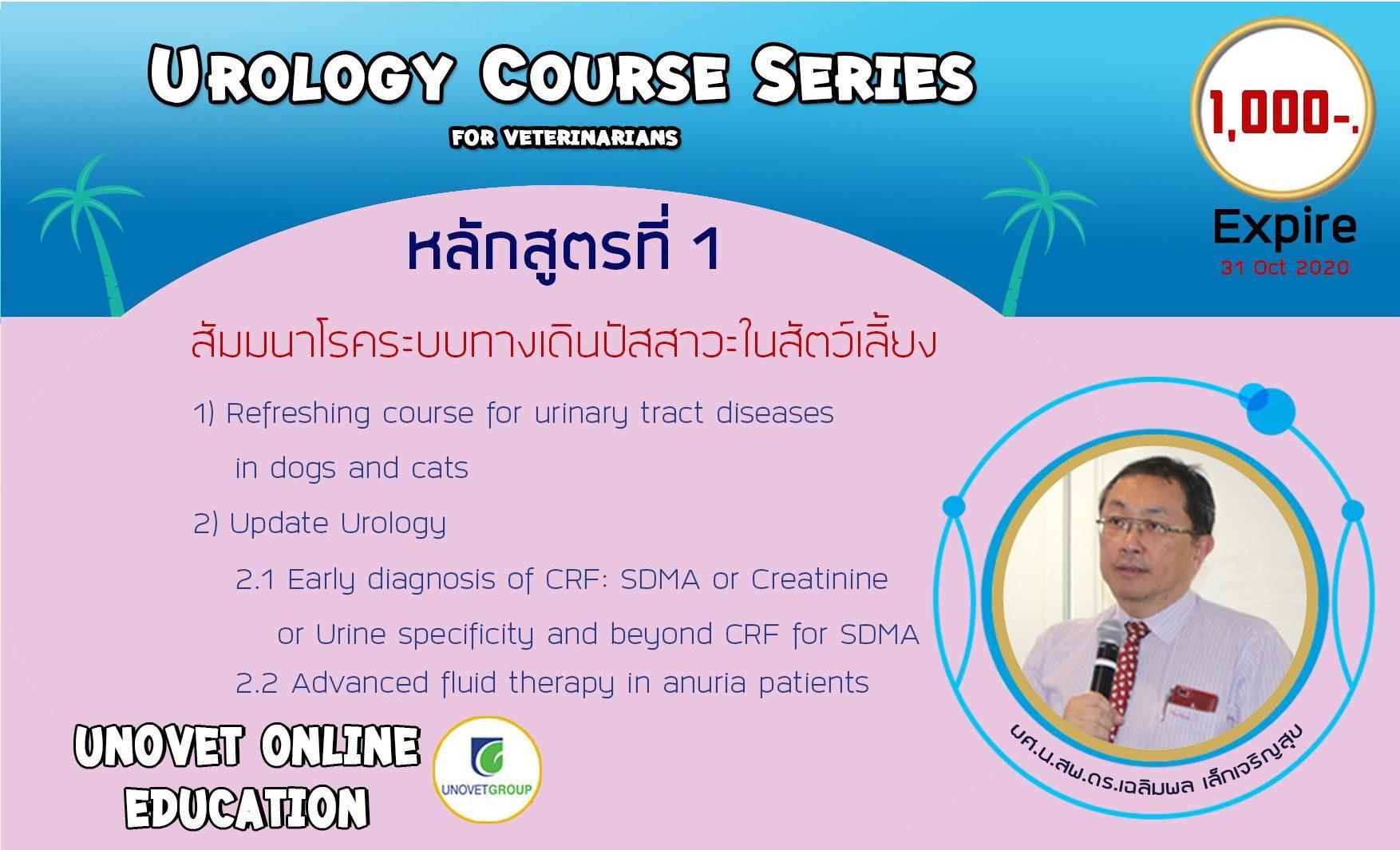 Urology course series (UN)