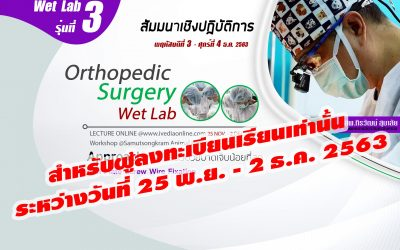 Orthopedic Surgery (Wet Lab) III