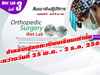 Orthopedic Surgery (Wet Lab) III