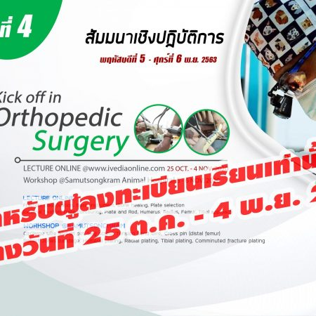 Kick off in Orthopedic Surgery 4